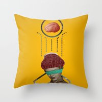 Exchange Throw Pillow