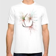 Pain Threshold Mens Fitted Tee White SMALL