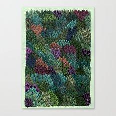 July Leaves Canvas Print