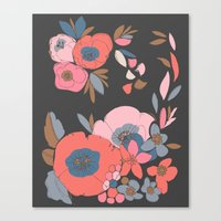 Dakota Flower Canvas Print