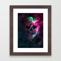 Life In Death Framed Art Print