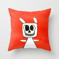 TACHÍN!! Throw Pillow