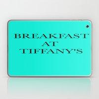 Breakfast At.. Laptop & iPad Skin