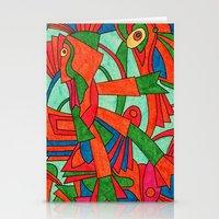 - Faces S - Stationery Cards