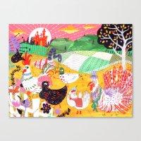 Chicken Licken Canvas Print