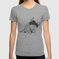 Avatar / Appa By Luna Po… Womens Fitted Tee Tri-Grey SMALL