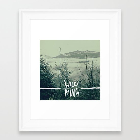Wild Thing: Skagit Valley, Washington Framed Art Print