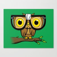 The Little Wise One Canvas Print