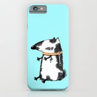 dog iPhone & iPod Cases featuring DOG by Кaterina Кalinich