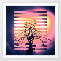 Dead Tree 2 Art Print