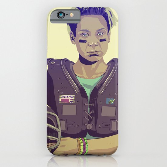 GAME OF THRONES 80/90s ERA CHARACTERS - Brienne iPhone & iPod Case