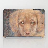 Retriever puppy iPad Case