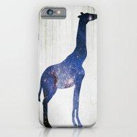 iPhone & iPod Case featuring Sky-Giraffe  by Emma J Hardy