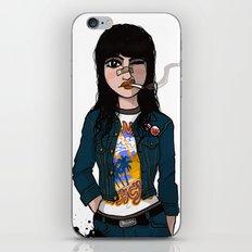 Rock Chick iPhone & iPod Skin