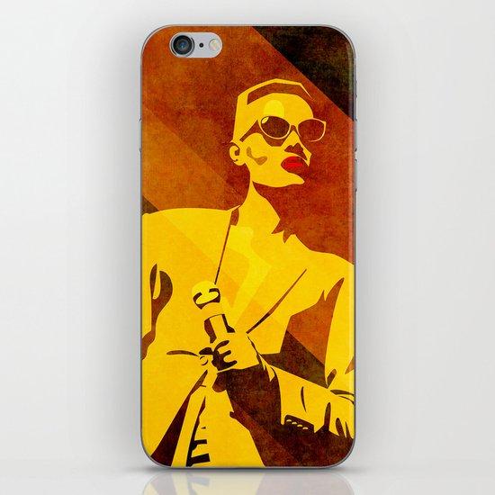 Grace Jones iPhone & iPod Skin