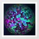 Spherical Variations 7 Art Print