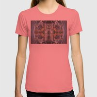 The Space Excavation Ter… Womens Fitted Tee Pomegranate SMALL
