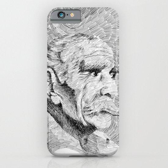 Hombre - black ink iPhone & iPod Case