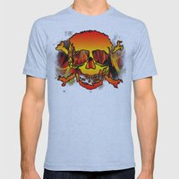 Skulls Mens Fitted Tee Athletic Blue SMALL