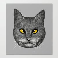 Cross Eyed Canvas Print