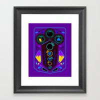 Pinball Wizard Framed Art Print