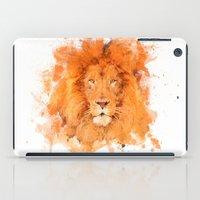 Splatter Lion iPad Case