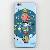 Skate Squad iPhone & iPod Skin