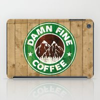 Damn Fine Coffee iPad Case