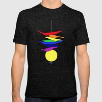 Totka - India T-shirt Mens Fitted Tee Tri-Black SMALL