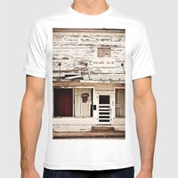 Dive Mens Fitted Tee White SMALL