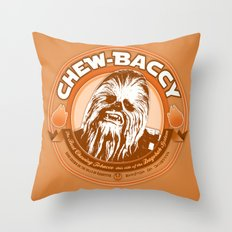 Chew-Baccy (Wookie Chewing Tobacco) Throw Pillow