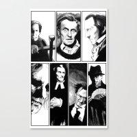 Cushing Horrors Canvas Print