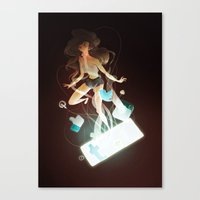 Tangled Canvas Print