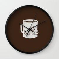 Mugged. Wall Clock