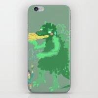 Godbilla iPhone & iPod Skin