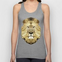 Polygon Heroes - The King Unisex Tank Top
