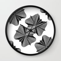 In Two Places at Once Wall Clock