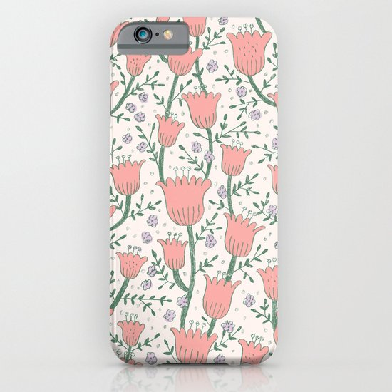 Pastel Flowers iPhone & iPod Case