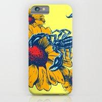 Scorpion Flowers iPhone 6 Slim Case