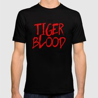 Tiger Blood Mens Fitted Tee Black SMALL