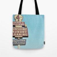 Sunshine Laundry Cleanin… Tote Bag