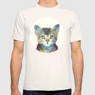 Cat // Aware Mens Fitted Tee Natural LARGE