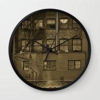 woodwards Wall Clock