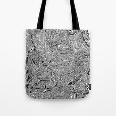 b/w pattern Tote Bag