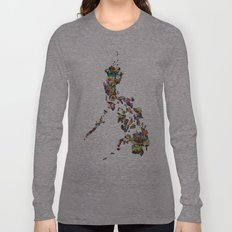 7,107 Islands | A Map of the Philippines Long Sleeve T-shirt