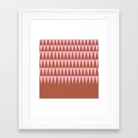 Dusk Forest Framed Art Print