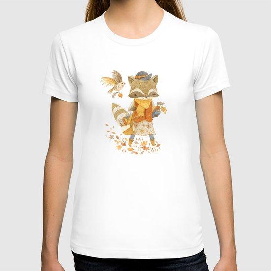 Rebecca the Radish Raccoon T-shirt