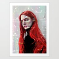 Beautiful Hell Art Print