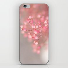 pink coral bells iPhone & iPod Skin