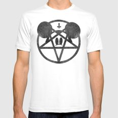 whoreship Mens Fitted Tee White SMALL